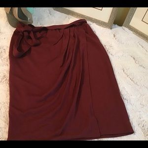 Kenneth Cole Skirt Wrap Skirt.